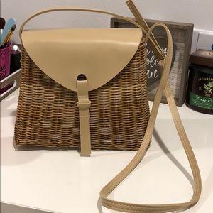 Whicker basket purse